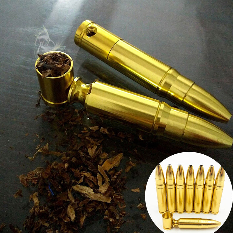 "Bullet Shaped Rocket ""Tobacco"" Pipe"
