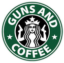 Guns and Coffee Decal
