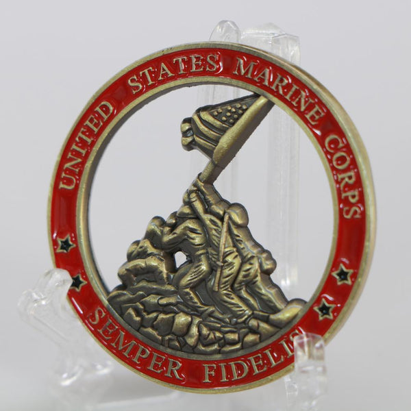 US Marine Corps Coin Medal