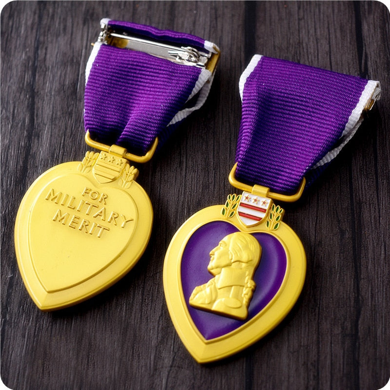 Military Order of The Purple Heart USA Military Medal