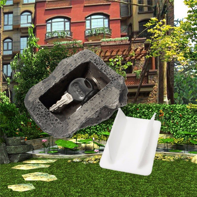 Outdoor Garden Security Safe Storage Key Box