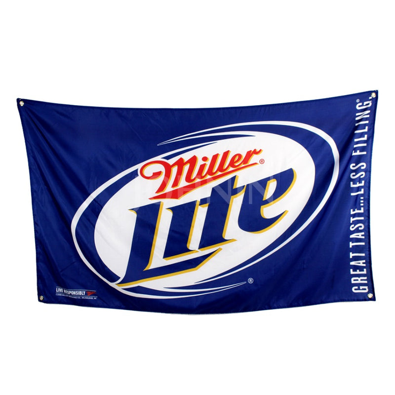 Miller Lite Beer Flag