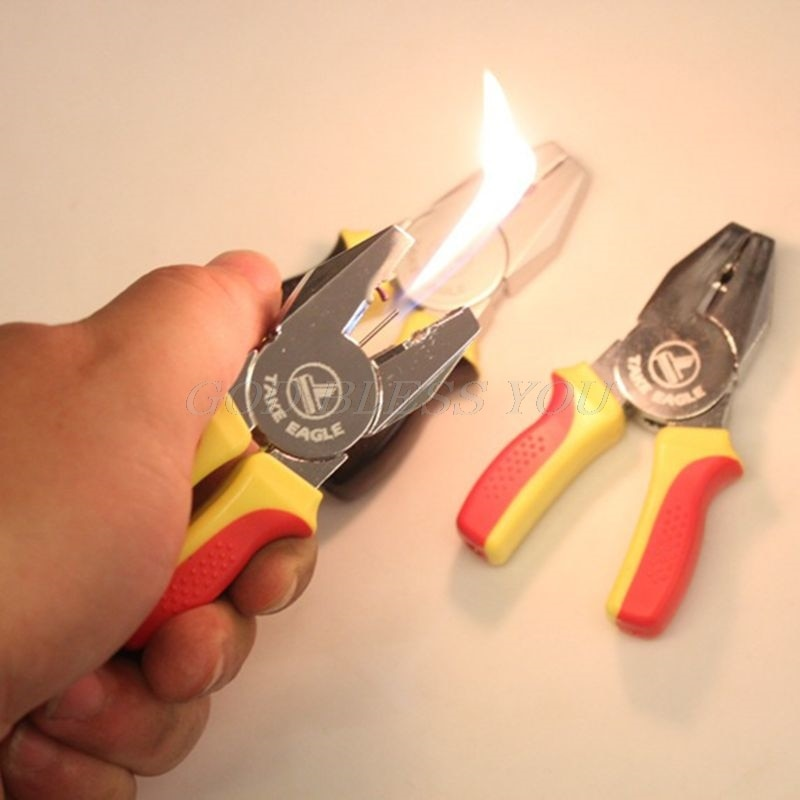 Creative Portable Mini Pliers Shape Lighter