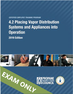 4.2 Placing Vapor Distribution Systems and Appliances into Operation Exam (4.2)