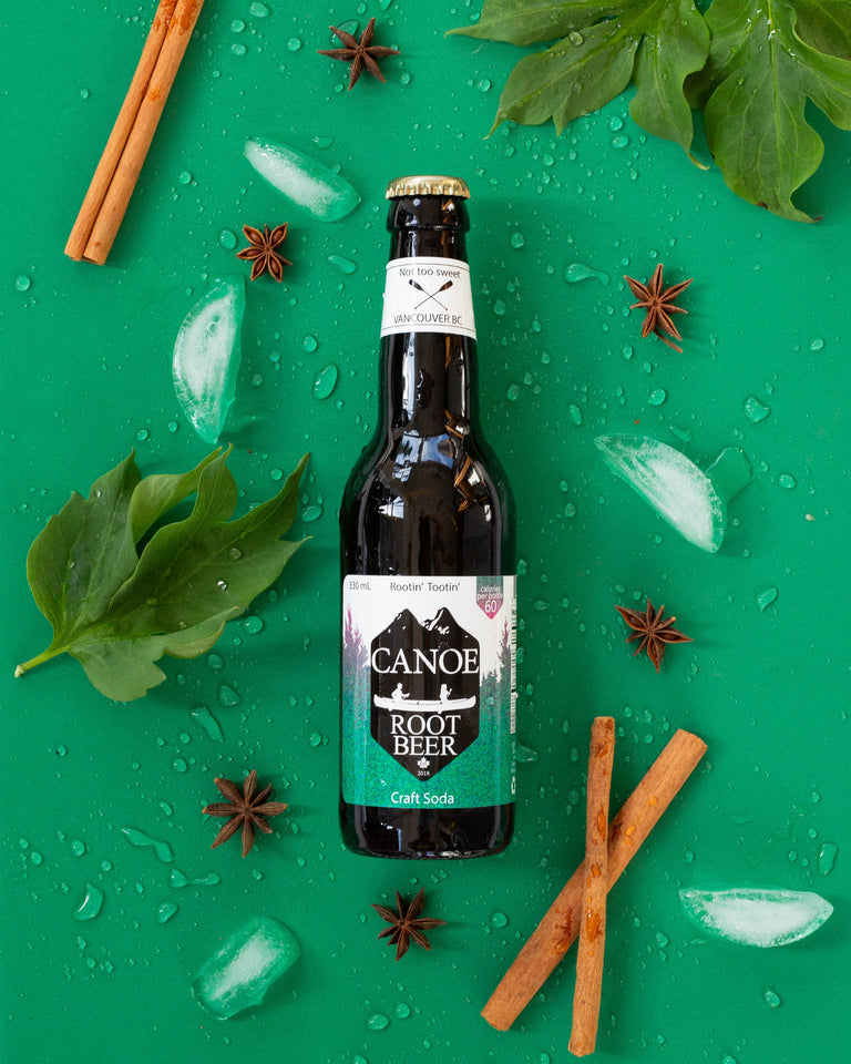 Canoe Cola Craft Soda | Local Soft Drinks | Serving Metro Vancouver Canoe Root Beer