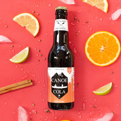Canoe Cola Craft Soda Metro Vancouver Local Soft Drinks Canoe Canoe Cola