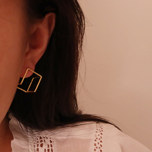 Square Shape Earring