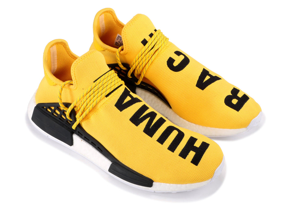 PW X NMD HUMAN RACE 'YELLOW'