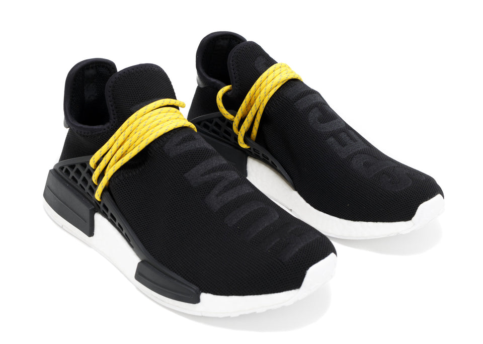 PW X NMD HUMAN RACE 'BLACK'