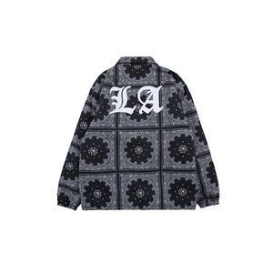 """LA"" QUILTED OVERSHIRT"
