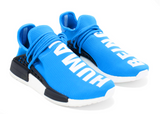 PW X NMD HUMAN RACE 'BLUE'