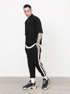 """GREAT"" COLORBLOCK TRACKPANTS"