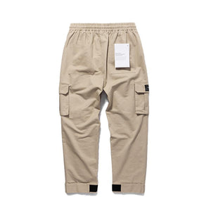 VELCRO-STRAPPED DRAWSTRING WORKPANTS