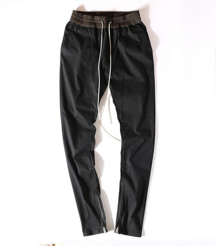 ANKLE ZIPPERED JOGGERS