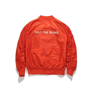 """ONLY THE BLIND"" MA-1 BOMBER"