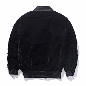 SUEDE MA-1 BOMBER