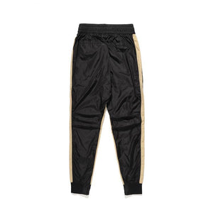 FOG STRIPED NYLON TRACKPANTS