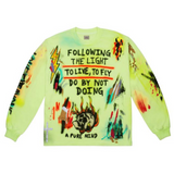 YEEZY WES LANG WYOMING L/S TEE FROZEN YELLOW