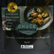 Load image into Gallery viewer, Shuck Australian Smoked Oysters