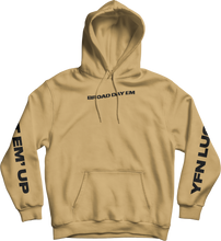 Load image into Gallery viewer, Broad Day Em' Hoodie - Tan
