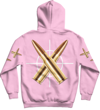Load image into Gallery viewer, Hit Em' Up Hoodie - Pink