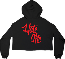 Load image into Gallery viewer, Love Me/Hate Me Crop Hoodie