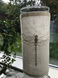 Embroderikit: Dragonfly lantern cuff