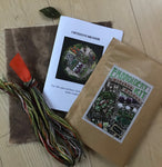 Embroidery kit: Kitchen garden