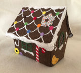 Embroidery kit: Gingerbread House