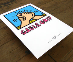 "Submission Series ""Gable Grip"" Giclée Print"