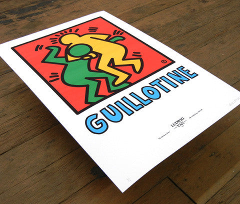 "Submission Series ""Guillotine"" Giclée Print"