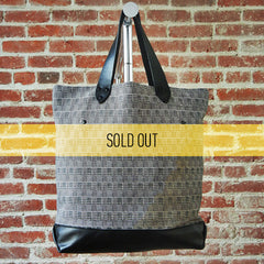 DEADSTOCK Canvas Tote / Houndstooth