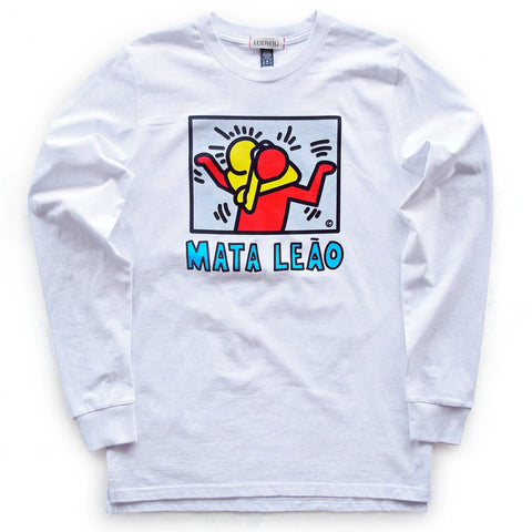 Mata Leao / Long Sleeve Tee White