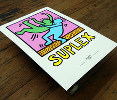 "Submission Series ""Suplex"" Giclée Print"