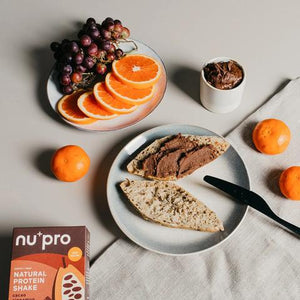 Almond spread with nu+pro
