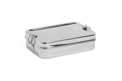 Steel Lunch Box / Rectangular with Box