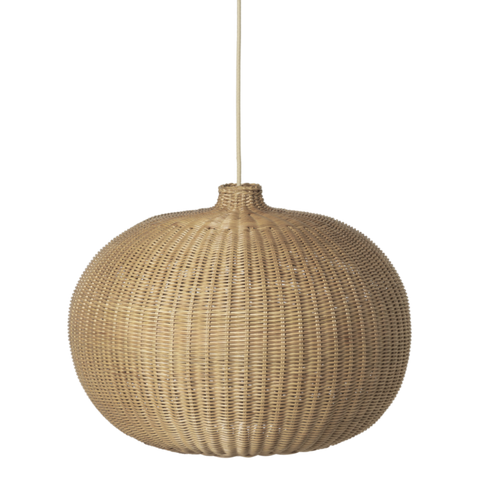 Braided Belly _ Lamp Shade