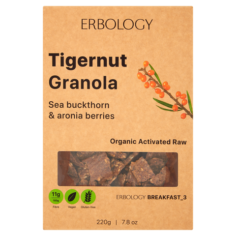 Tigernut Granola with Sea Buckthorn _ Breakfast 3