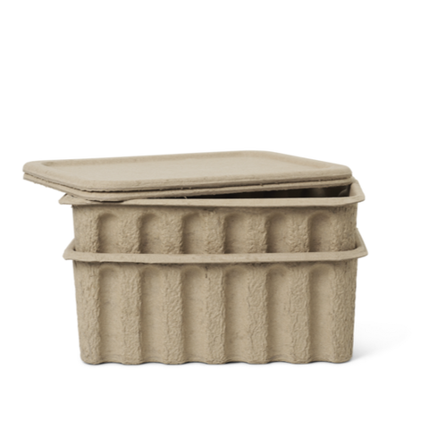 Paper Pulp Box _ Large _ set of 2