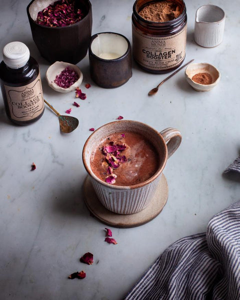 Plantbased Collagen Booster Dirty Rose Chai