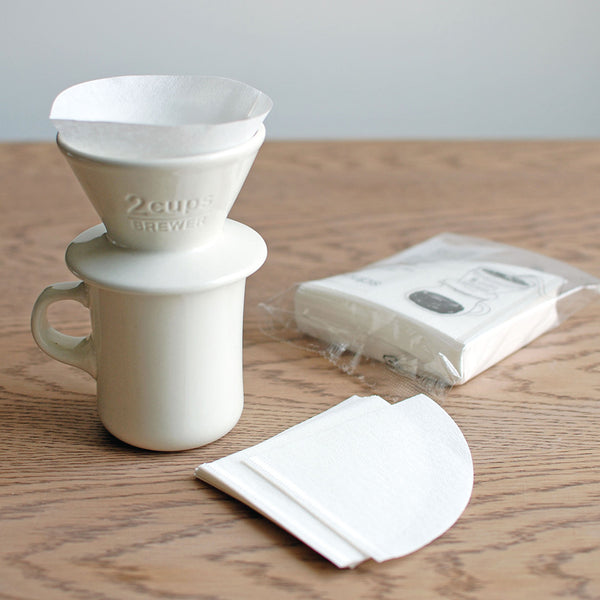 SCS-02-CP-60 Cotton Paper Filter 2 cups