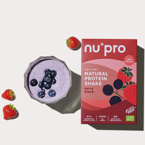 Berry Blend Natural Protein Shake