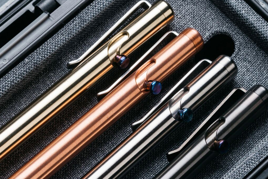 Introducing the new Tactile Turn Bolt Action Pens