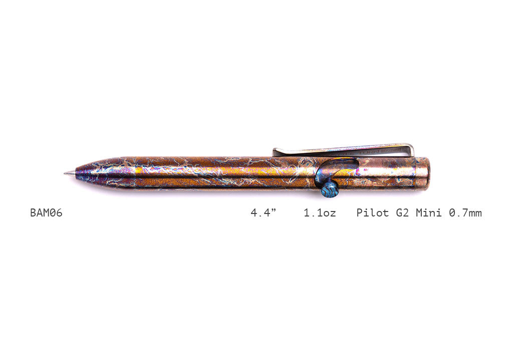 Nebula Bolt Action Pens