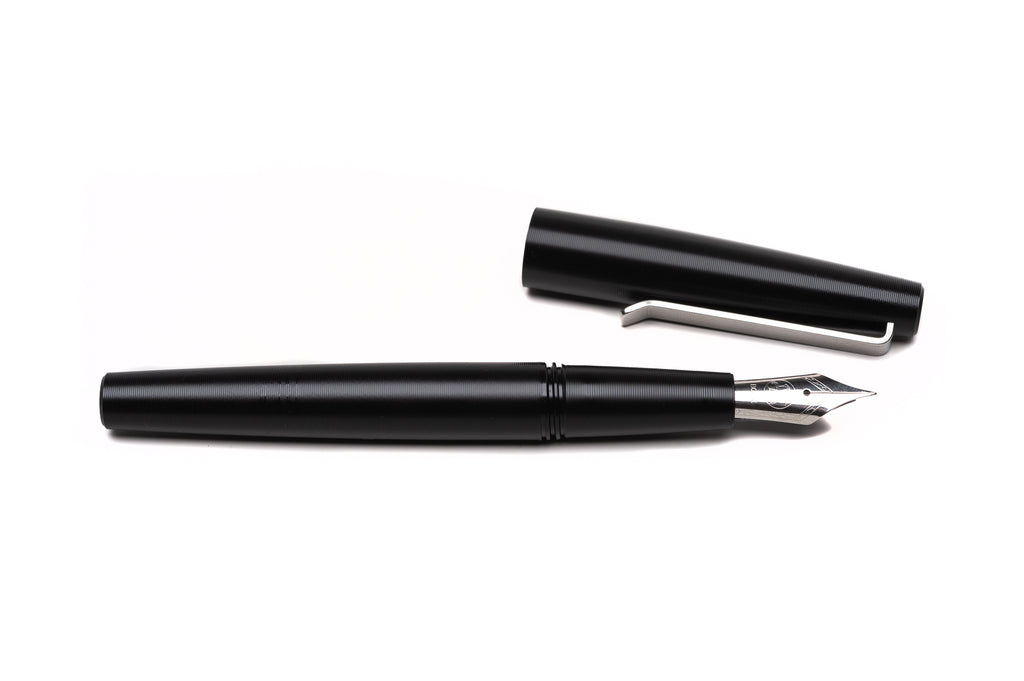 Black Fountain Pen by Tactile Turn