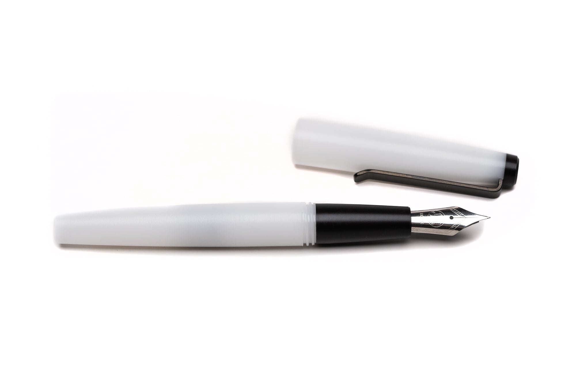 Black and White Fountain Pen by Tactile Turn