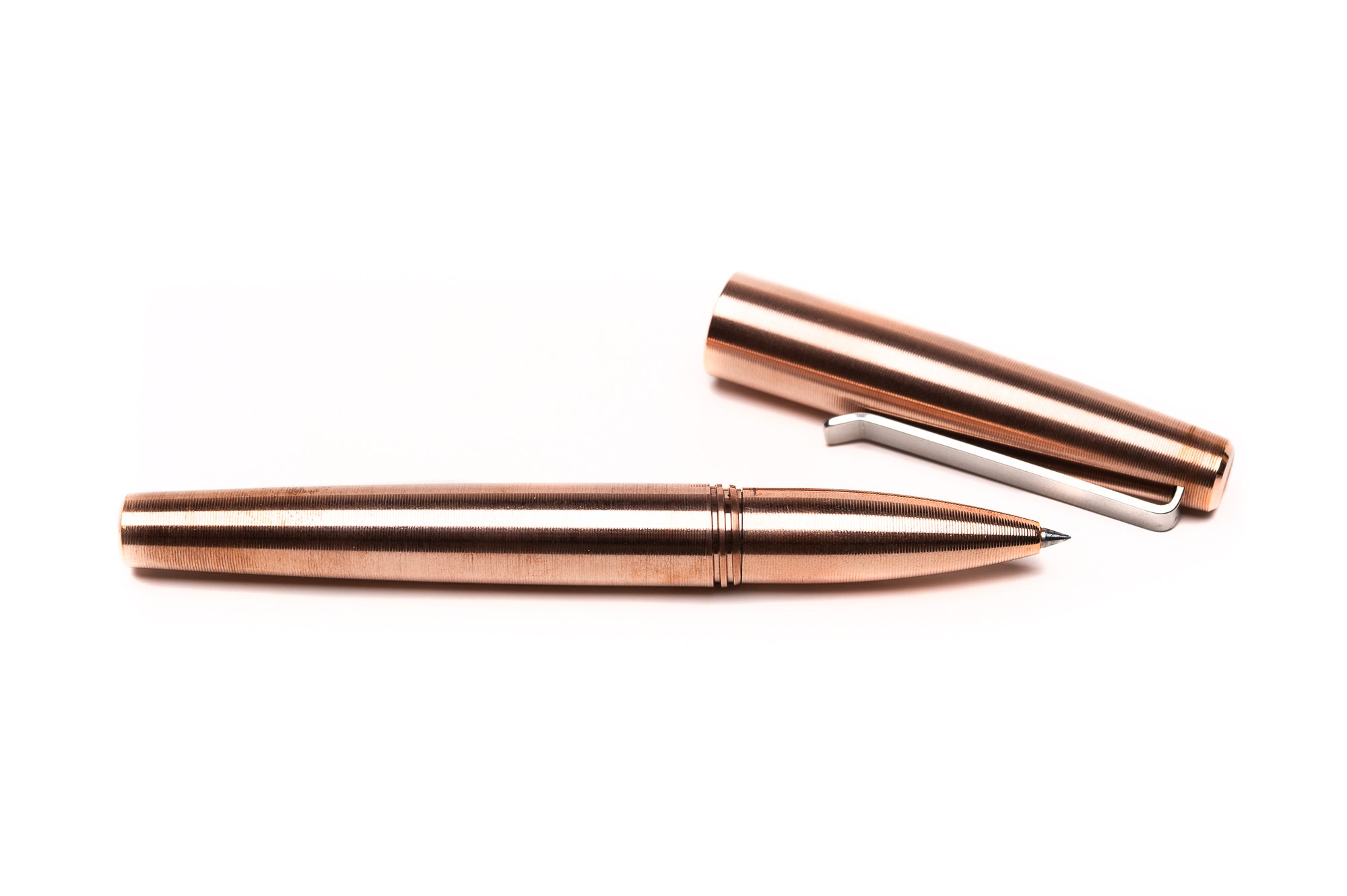 Copper Rollerball Pen by Tactile Turn