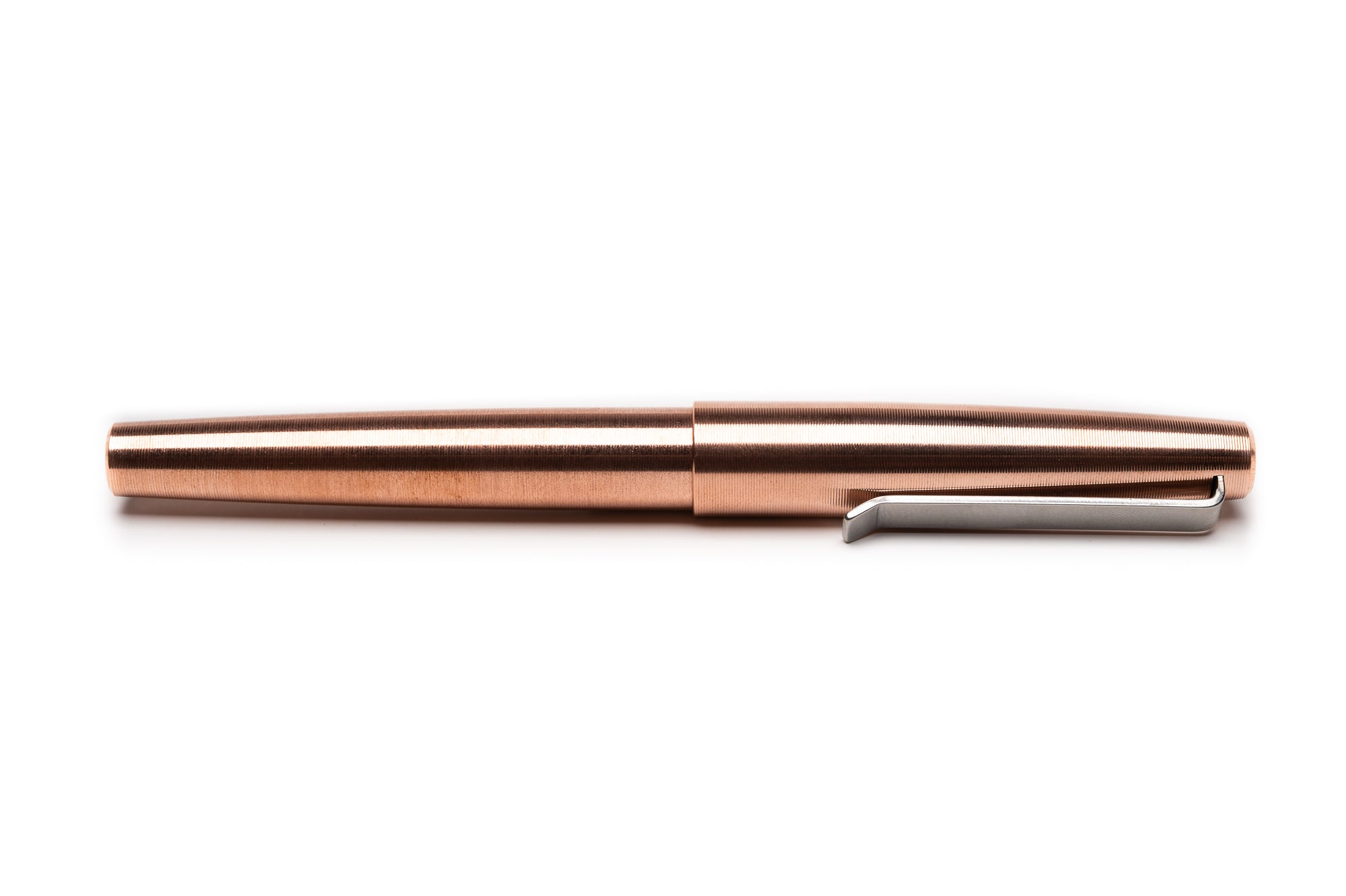 Copper Fountain Pen by Tactile Turn