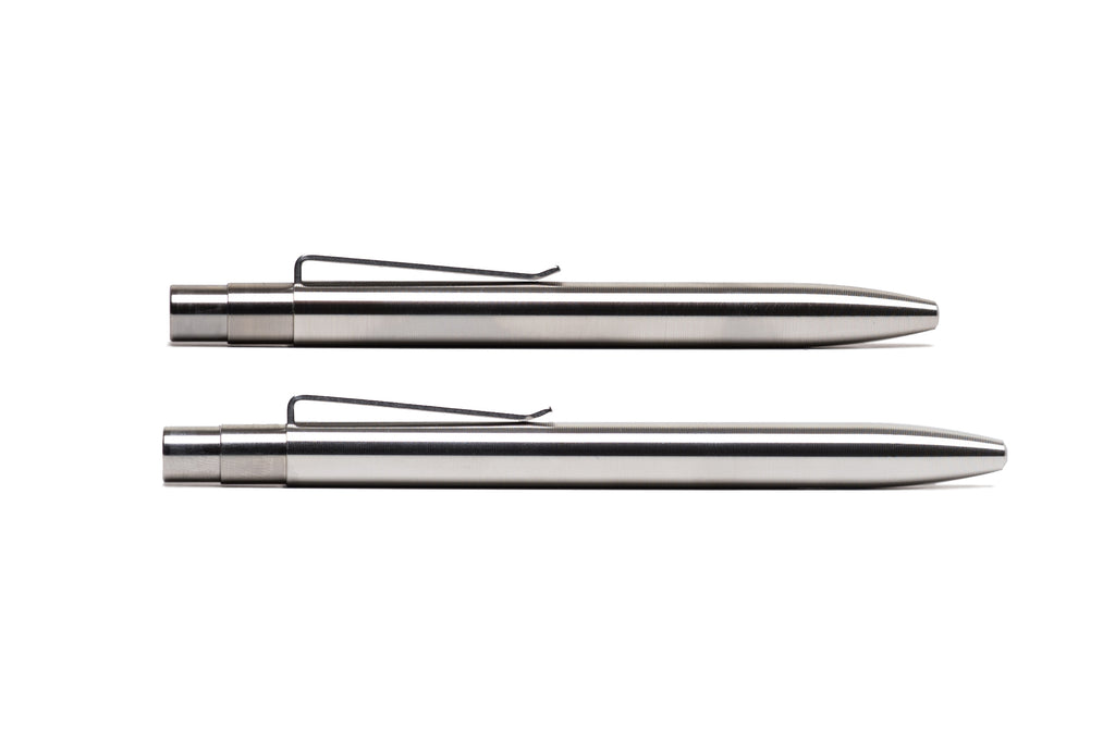 Stainless Steel Click Pen