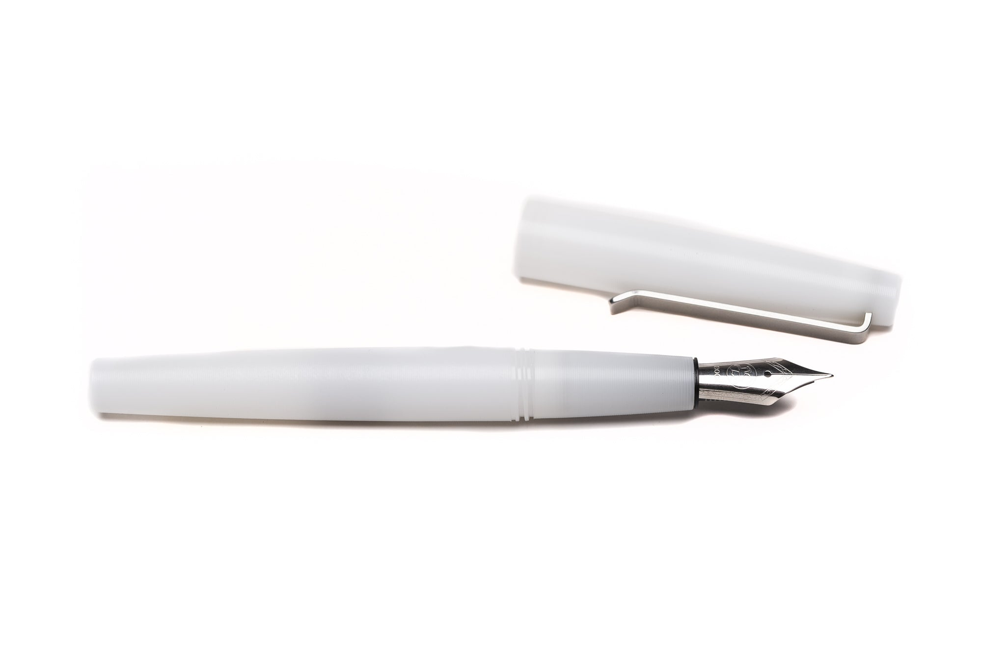 White Fountain Pen by Tactile Turn